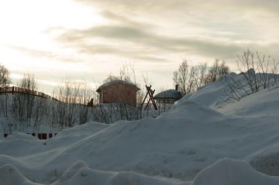 <挪威拉普兰冰雪美景图片桌面壁纸