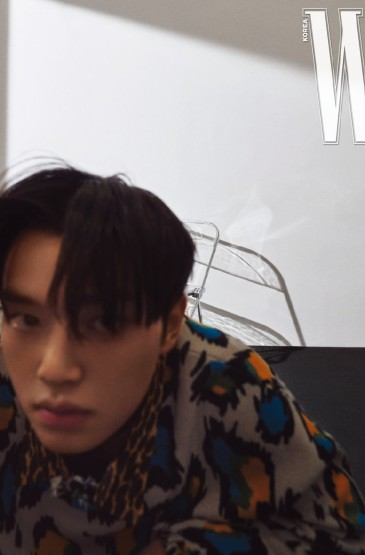 宋江Kang Song帅气杂志写真图片