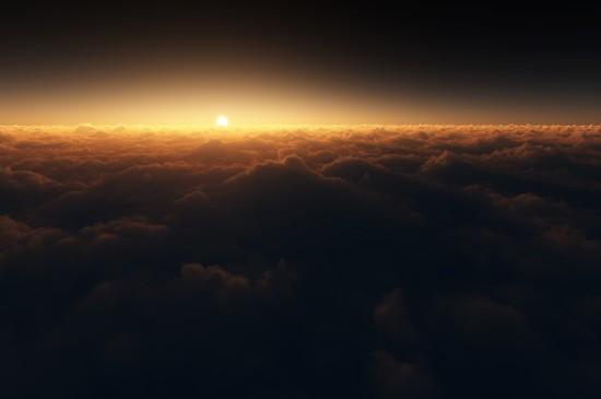 <唯美夕阳自然风景图片电脑壁纸