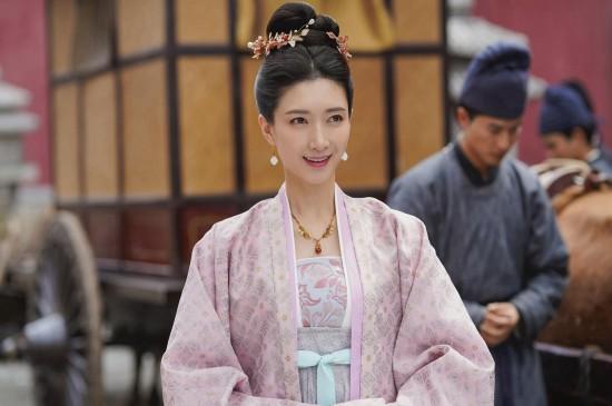 江疏影《清平樂》古裝劇照桌面壁紙