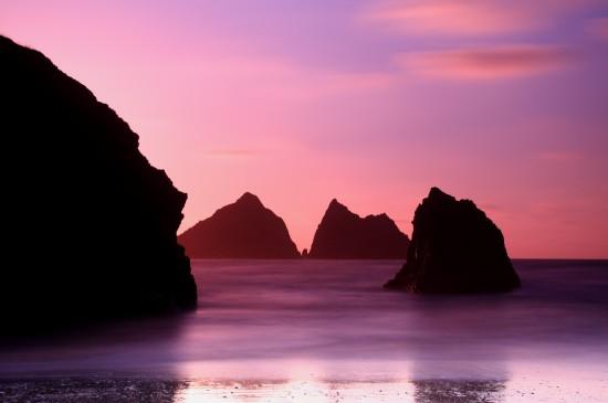 <黄昏夕阳骑马女孩风景桌面壁纸