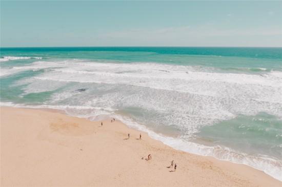 <海洋沙滩清爽养眼高清桌面壁纸