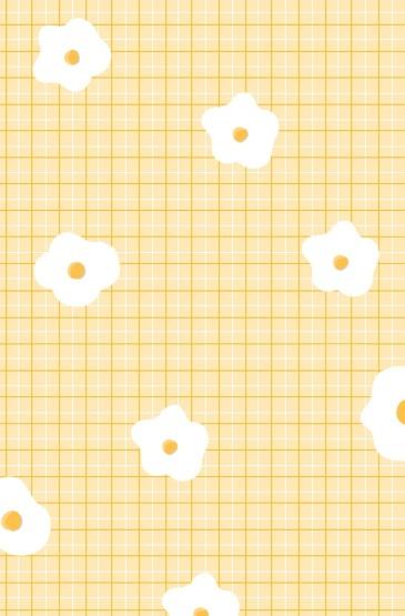 小熊格子可爱手绘主题手机壁纸 第二辑