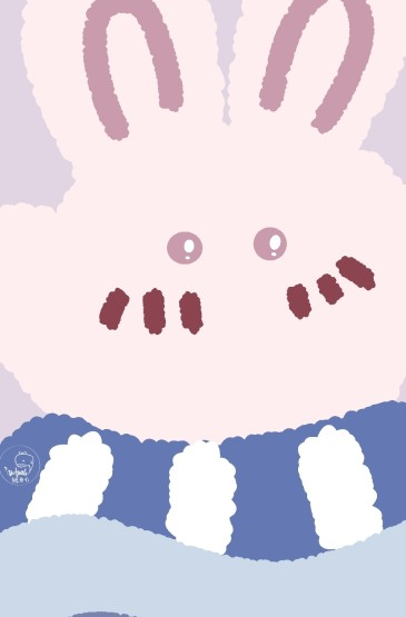 小熊与小兔主题手机壁纸
