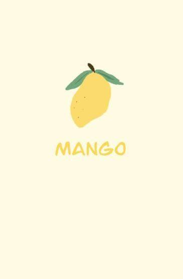 小清新手绘水果图片手机壁纸