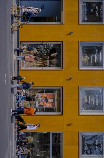 城市街道风景手机壁纸