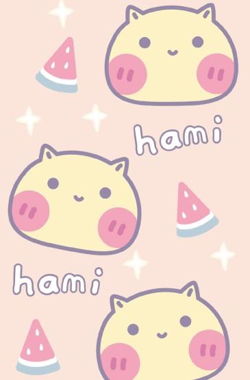 超可爱哈咪猫图片手机壁纸