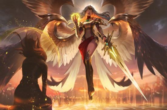 LOL英雄联盟正义天使凯尔桌面壁纸